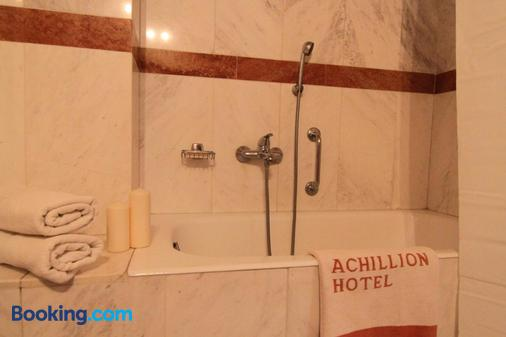 Achillion Hotel - Athens - Bathroom