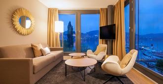 Radisson Blu Hotel, Lucerne - Luzern - Wohnzimmer