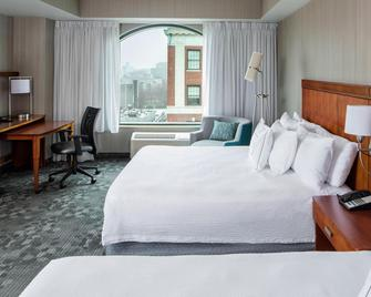 Courtyard by Marriott Stamford Downtown - Stamford - Bedroom