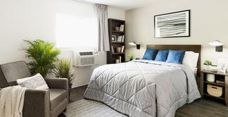 Intown Suites Extended Stay Charlotte Nc - Albemarle - שרלוט - חדר שינה
