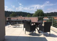 Green Fortuna Suites - Liubliana - Balcón