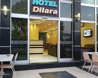 Dilara Hotel - Mersin - Patio