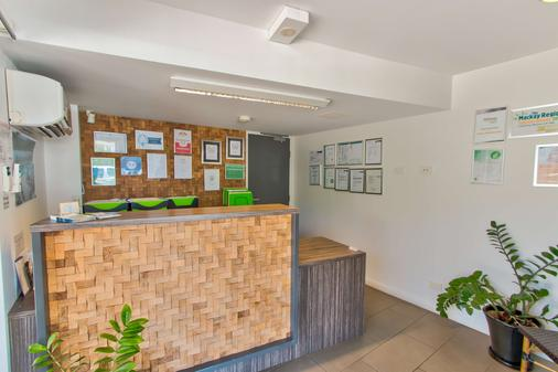 Mackay Oceanside Central Hotel - Mackay - Recepción