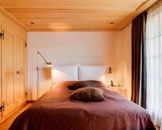 Luxurious Flat With Jacuzzi & Sauna - Saanen - Bedroom