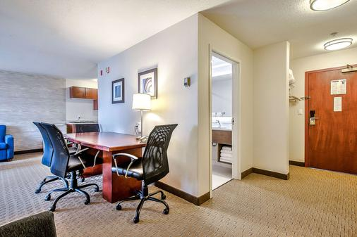 Comfort Inn & Suites South - Calgary - Ruokailuhuone