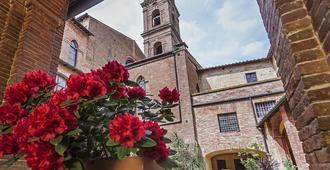 IL Chiostro Del Carmine - Siena - Vista del exterior