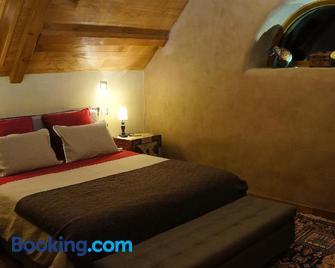 Domaine des Maréquiers chambre Mélilot - La Canourgue - Schlafzimmer