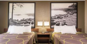 Super 8 by Wyndham St. Cloud - St. Cloud - Bedroom