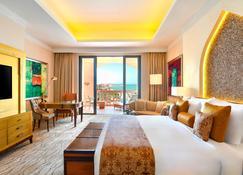 مرسى الملز كمبينسكي، اللؤلؤة - الدوحة - الدوحة - غرفة نوم
