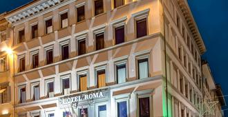 Hotel Roma - Florence - Building