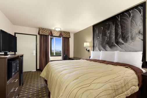德克薩斯沃思堡速 8 酒店 - 沃斯堡 - 沃思堡 - 臥室
