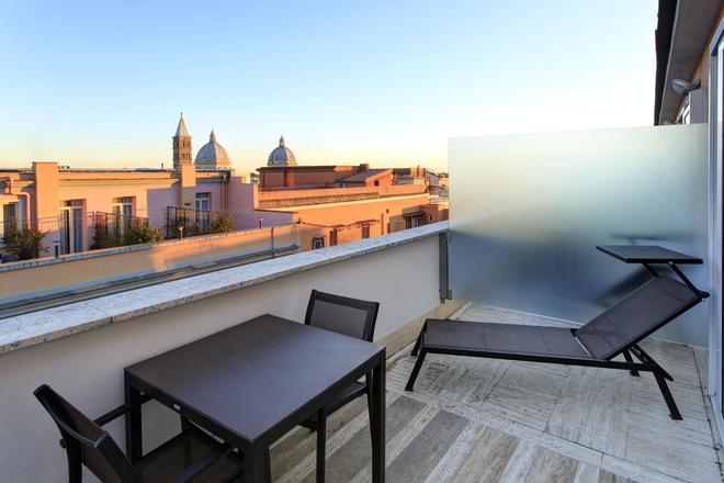 貝斯特韋斯特普拉斯環球酒店 - 羅馬 - 羅馬 - 陽台