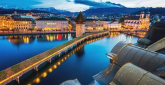 Des Alpes - Lucerne - Lobby
