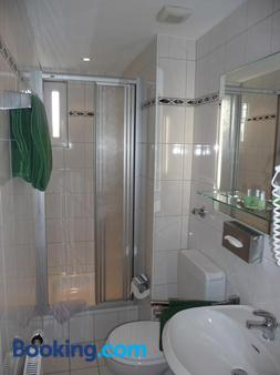 Hotel Sechzehn - Λεβερκούζεν - Μπάνιο