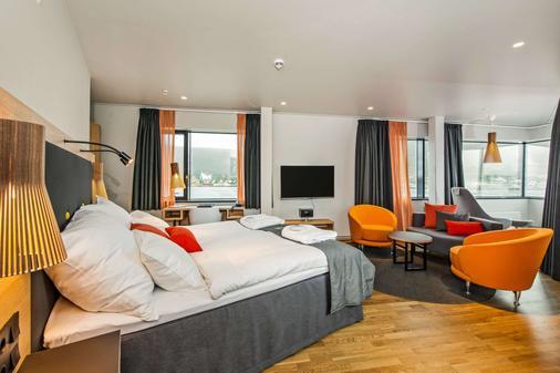 Clarion Hotel The Edge - Tromssa - Makuuhuone