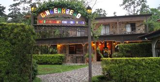 Gingerbread Hotel And Restaurant - Nuevo Arenal - Building