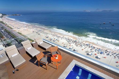 Sol Ipanema Hotel - Рио-де-Жанейро - Пляж