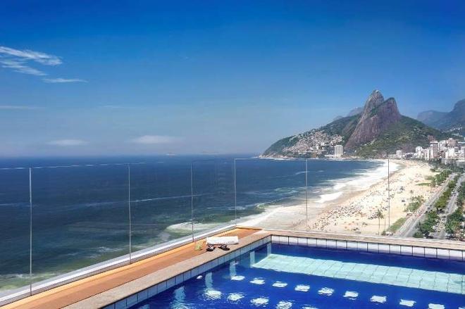 Sol Ipanema Hotel - Rio De Janeiro - Piscine