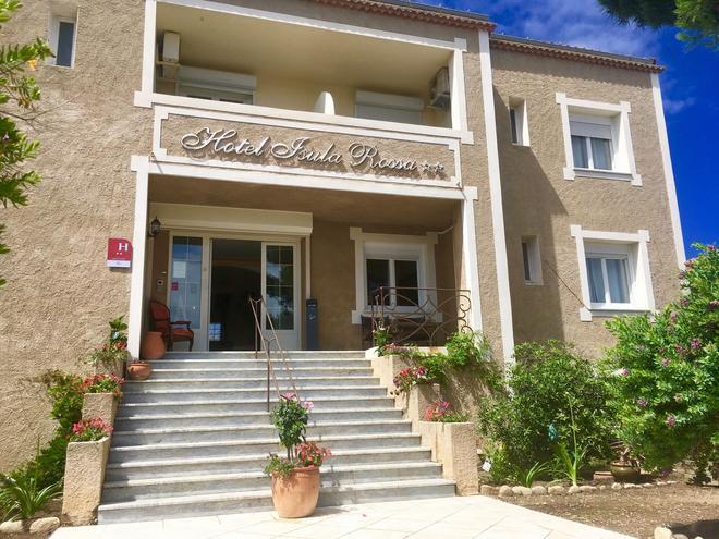 Hôtel Isula Rossa - L'Île-Rousse - Bâtiment