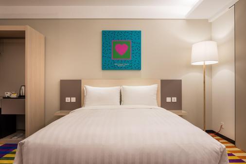 Green World Hotel - Zhonghua - Taipei - Bedroom