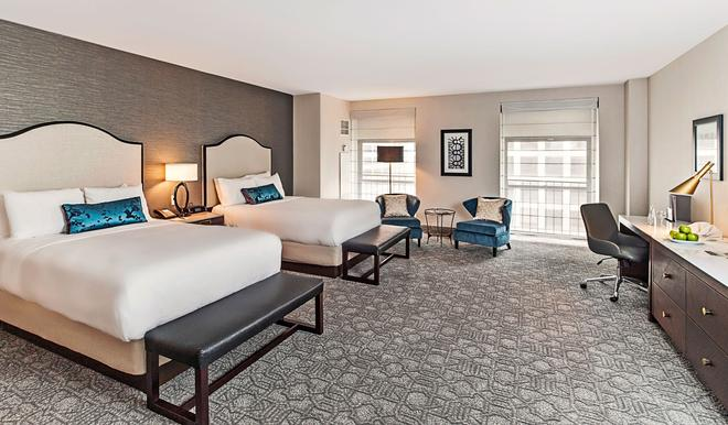 Intercontinental Hotels Chicago Magnificent Mile - Chicago - Bedroom