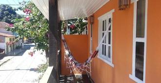Pousada Bahia Mar - פורטו סגורו - מרפסת