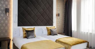 エム スクエア ホテル - ブダペスト - 寝室