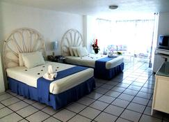 Hotel Villa Bejar Tequesquitengo - Tequesquitengo - Sypialnia