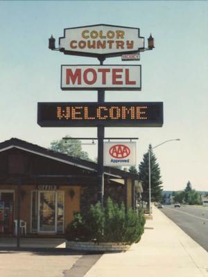 Color Country Motel - Panguitch - Rakennus