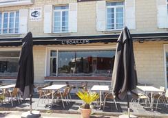Hotel L'Ecailler - Ouistreham - Patio