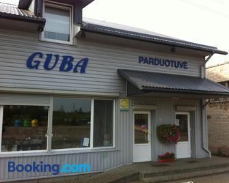 Guest House Guba - Moletai - Building