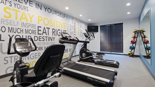 Best Western Plus Buda Austin Inn & Suites - Buda - Fitnessbereich