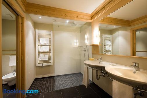 Alpin & Vital Hotel La Perla - Ortisei - Bathroom