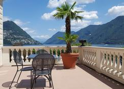 Best Western Hotel Bellevue Au Lac - Lugano - Balkon