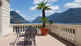 Best Western Hotel Bellevue Au Lac - Lugano - Balcón