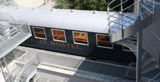 Train Cabin Hostel - Bruselas - Vista del exterior
