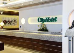 City Hotel - Bydgoszcz - Recepción