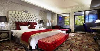 Golden Hot Spring Hotel - Taipei City - Bedroom