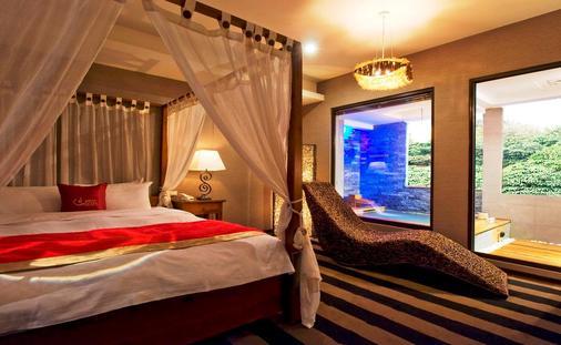 Golden Hot Spring Hotel - Taipei - Bedroom