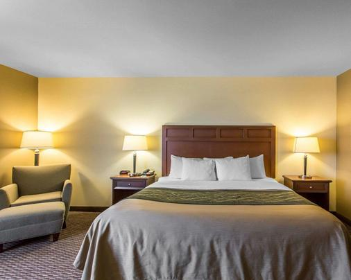 Comfort Inn & Suites - Madisonville - Schlafzimmer