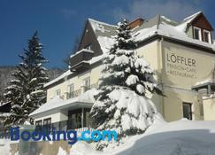 Pension Cafe Restaurant Loffler - Semmering - Building