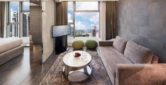 Lodgewood by Nina Hospitality Mong Kok - Hong Kong - סלון