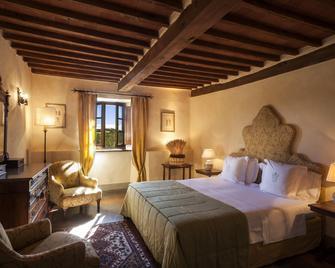 Castello DI Spaltenna - Gaiole In Chianti - Schlafzimmer