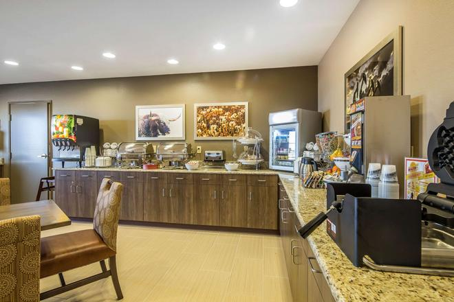 Suburban Extended Stay Hotel - Midland - Buffet