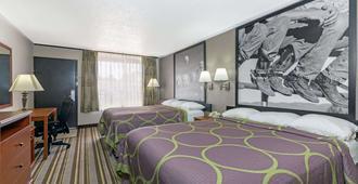 Super 8 by Wyndham Longview/North - Longview - Bedroom