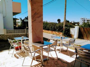 Hostal Can Jurat Hostal - San Antonio de Portmany - Patio