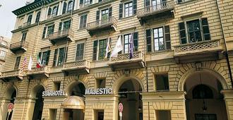 Starhotels Majestic - Турин - Здание