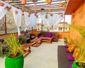 Dafu Boutique Hotel Stonetown - Zanzibar - Patio
