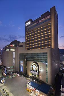 里貝樂飯店 - 釜山 - 建築