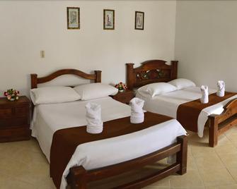 Hotel La Villa Del Virrey - Вилья-де-Леива - Спальня